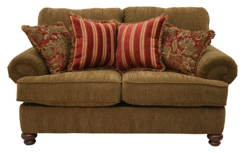 Shop Jackson Belmont Umber Loveseat at Mealey's Furniture