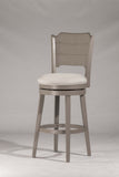 "Shop Hillsdale Clarion Gray 26"" Swivel Counter Stool at Mealey's Furniture"