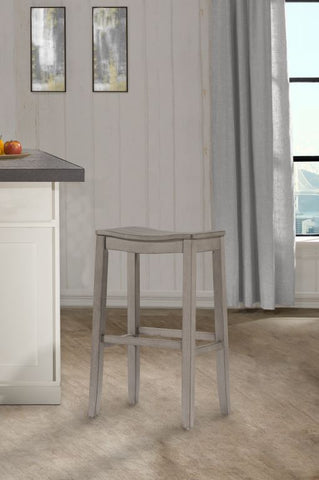 "Shop Hillsdale Fiddler Gray 24"" Backless Counter Stool at Mealey's Furniture"