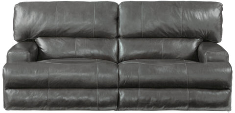 Wembley Steel Power Reclining Sofa