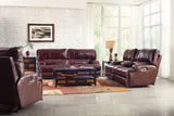 Wembley Walnut Power Reclining Sofa