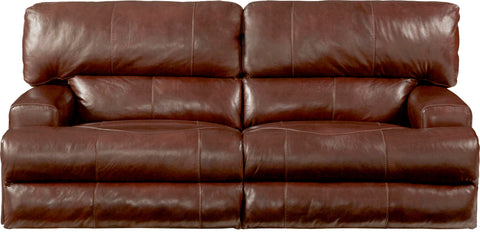 Shop Catnapper Wembley Walnut Reclining Sofa at Mealey's Furniture