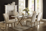Luella Dining Table & 4 Side Chairs