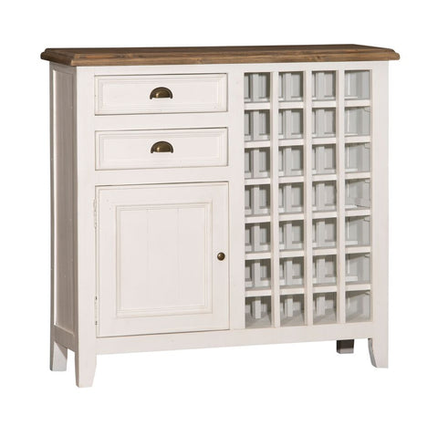 Shop Hillsdale Tuscan Rose Bay Wine Rack Country White And Antique Pine  Wine Rack at Mealey's Furniture