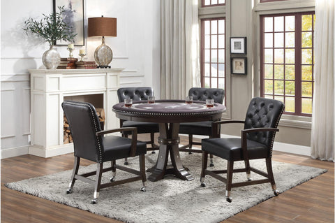 Shop Homelegance Ante Arm Chair W/Castors at Mealey's Furniture