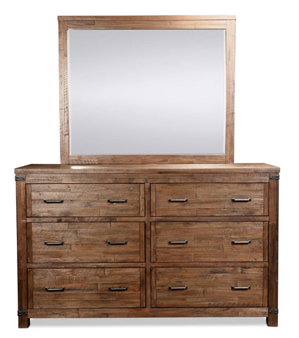 Shop Mealey's Bowery  Dresser With Mirror at Mealey's Furniture