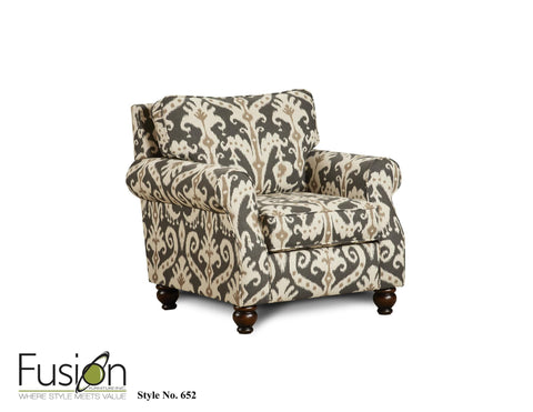 Shop Fusion Fairy Sand Accent Chair at Mealey's Furniture