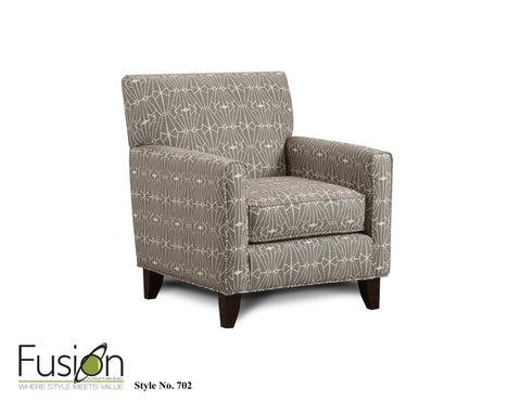 Shop Fusion Sugarshack Glacier Accent Chair at Mealey's Furniture