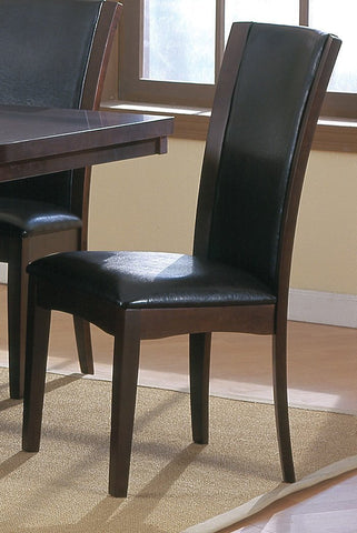 Shop Homelegance Daisy Dark Brown Parson Chair at Mealey's Furniture