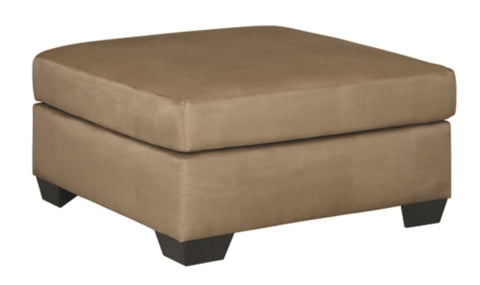 Darcy Mocha Over Sized Accent Ottoman