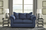 Shop Ashley Furniture Darcy Blue Sofa and Loveseat at Mealey's Furniture