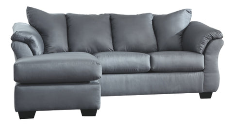Darcy Steel Sofa Chaise