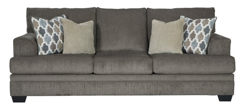 Shop Ashley Furniture Dorsten Slate Sofa Queen Sleeper at Mealey's Furniture