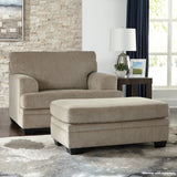 Shop Ashley Furniture Dorsten Sisal Chair and a Half at Mealey's Furniture