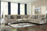 Shop Ashley Furniture Dorsten Sisal 3 Piece Sectional at Mealey's Furniture