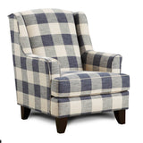 Shop Fusion Catalina Linen Accent Chair at Mealey's Furniture