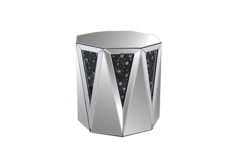 Shop Acme Furniture Noor Mirrored Side Table at Mealey's Furniture