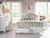 Ava Full Upholstered Bed