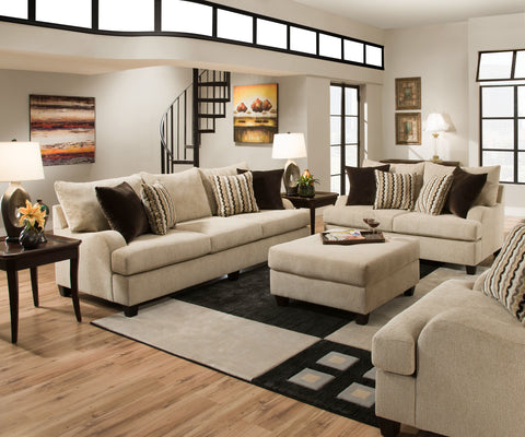 Trinidad Taupe Living Room Set