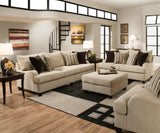 Shop United Trinidad Taupe Loveseat at Mealey's Furniture