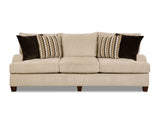 Shop United Trinidad Taupe Sofa at Mealey's Furniture