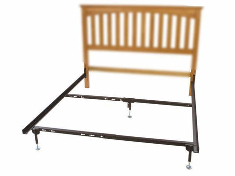 Metal Bed Frame Bed Frame Hook In For Headboard Only With 1 Leg ...