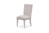 Shop Aico Glimmering Heights Ivory Side Chair at Mealey's Furniture