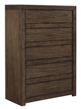 Shop Aspen Home Modern Loft Brown 5 Drawer Chest at Mealey's Furniture
