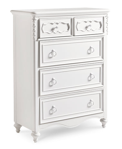 Shop Samuel Lawrence Ava 5 Drawer Chest at Mealey's Furniture
