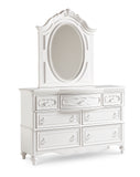 Shop Samuel Lawrence Ava 7 Drawer Dresser and Mirror at Mealey's Furniture