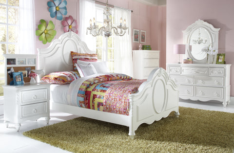 Shop Samuel Lawrence Ava Full Panel Bed at Mealey's Furniture