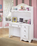 Shop Ashley Exquisite White Desk with Hutch at Mealey's Furniture