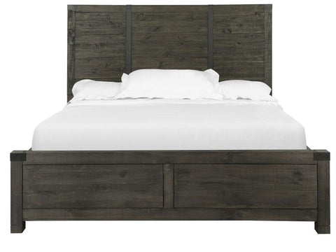 Shop Magnussen Abington Weathered Charcoal King Bed at Mealey's Furniture