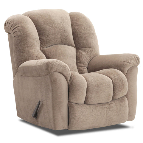 Shop Home Stretch Cup Of Jo Almond Rocker Recliner at Mealey's Furniture