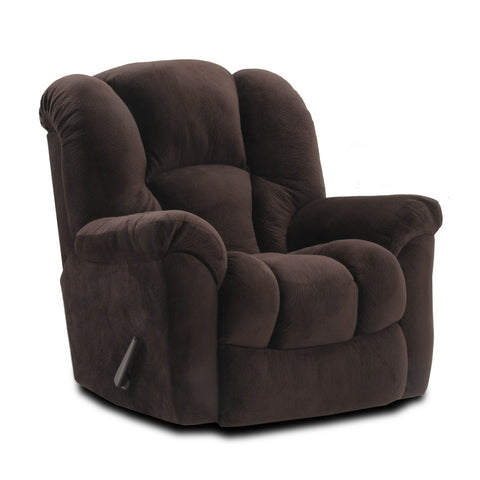 Shop Home Stretch Cup Of Jo Espresso Rocker Recliner at Mealey's Furniture
