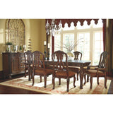 North Shore Dining Table w/ 4 Side Chairs