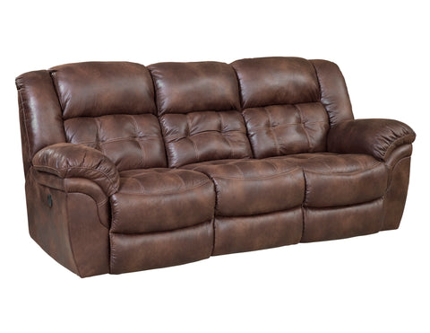 Shop Home Stretch Dimples Espresso Espresso Reclining Sofa at Mealey's Furniture