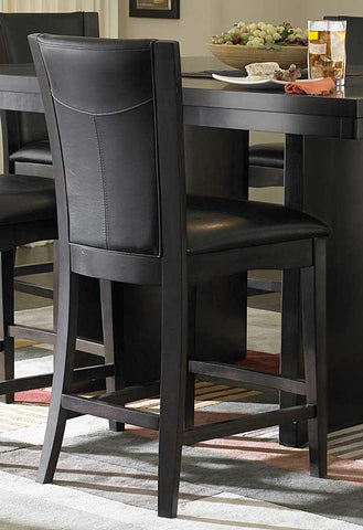 Shop Homelegance Daisy Dark Brown Counter Chair at Mealey's Furniture