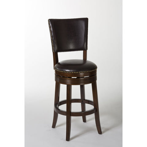 "Shop Hillsdale Sonesta 26"" Swivel  Espresso Counter Stool at Mealey's Furniture"