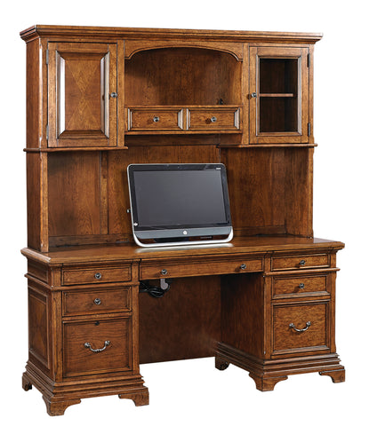 Shop Aspenhome Oxford Credenza and Hutch at Mealey's Furniture