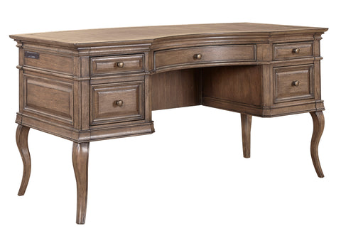"Shop Aspenhome Arcadia 60"" Half Pedestal Desk at Mealey's Furniture"