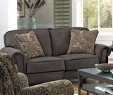 Shop Jackson Downing Charcoal Loveseat at Mealey's Furniture