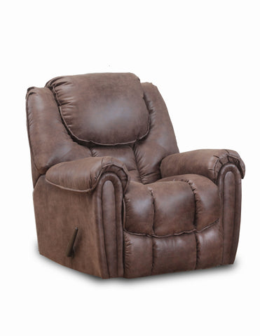 Shop Home Stretch Del Mar Mocha Rocker Recliner at Mealey's Furniture
