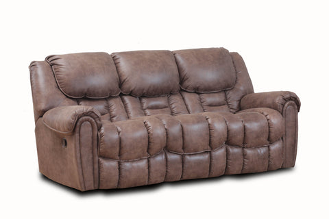 Shop Home Stretch Del Mar Mocha Power Reclining Sofa at Mealey's Furniture
