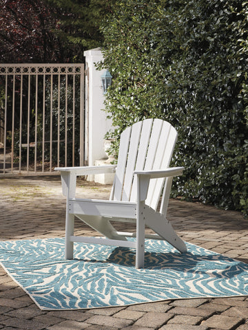 Sundown Treasure White Adirondack Chair