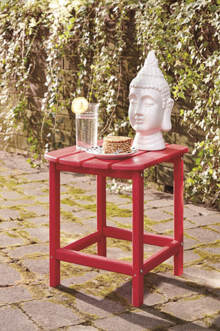 Sundown Treasure Red End Table