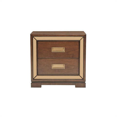 Shop Pulaski Chrystelle Medium Brown Nightstand at Mealey's Furniture