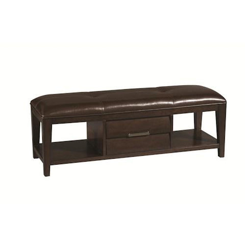 Shop Pulaski Tangerine Cherry Bench Cherry Veneers at Mealey's Furniture
