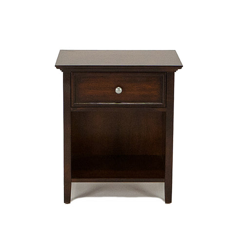 Shop Mealey's Spencer Mahogany 1 Drawer Nightstand at Mealey's Furniture