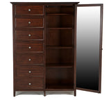Shop Mealey's Spencer Mahogany Gentlemen Chest at Mealey's Furniture